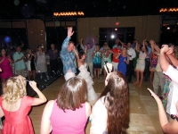 wedding reception deja blu dance band
