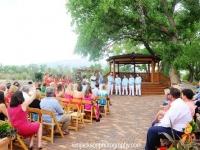 wedding ceremony hyatt tamaya new mexico