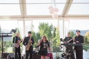 Aspen wedding dance band